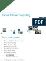Windows Azure Computing