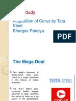 Tata Steel -Corus Case Study