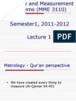 Lecture1 Mme3110 Sem1 1112-1 Introd to Metrology