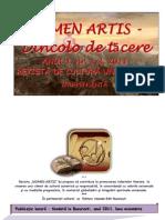NOMEN ARTIS.- Dincolo de tacere -Nr. 1.2 Revista de Cultura Universala