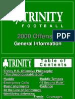 2000 Trinity High School (KY) Spread Offense - 137 Slides