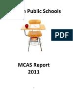 MCAS SC Report 2011