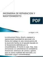 Ing. Mantenimiento