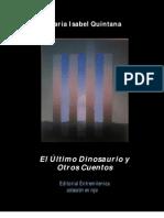 El último Dinosaurio y Otros Cuentos_María Isabel Quintana