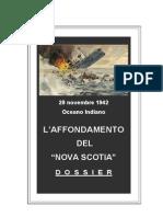 L'Affondamento Del Nova Scotia - Dossier