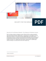 Security for Wireless Network