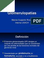 Glomerulopatías Marcia