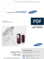 Samsung B2100 UM IND Eng 24269A Rev.1.0