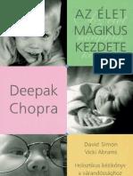 Deepak Chopra Az Elet Magikus Kezdete