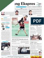 Koran Padang Ekspres | Selasa, 15 November 2011.