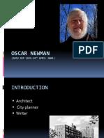 Oscar Newman
