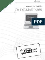 Manual Exomate x355