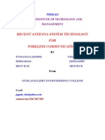 Recent Antenna Systems