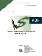 Informe Final TRC y Payback