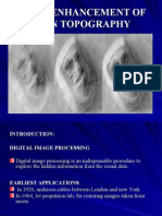 Image Enhancement of Alien Topography