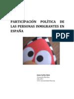 prticipación de los inmigrantes en España