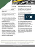 Tax  Alert - Resolución N° 11.11.02 Normas Generales del SITME