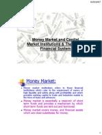 MFI Ch 1c(Money Mkt & Cap Mkt Inst)