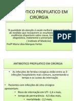ANTIBIOTICO PROFILATICO EM CIRÚRGIA