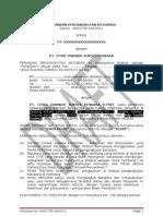Perjanjian Pengangkutan Batubara Revisi-1