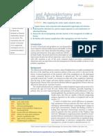 Adenoidectomia, tubos de ventilación, ORL