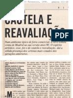 ARCO 1990. Por.  O Independente 23 Fevereiro 1990