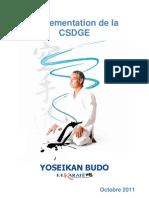 Yoseikan Budo - Règlement des Passages de Grades 2011-2012
