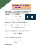 5.7 Serie de Fourier en Un Medio Intrevalo