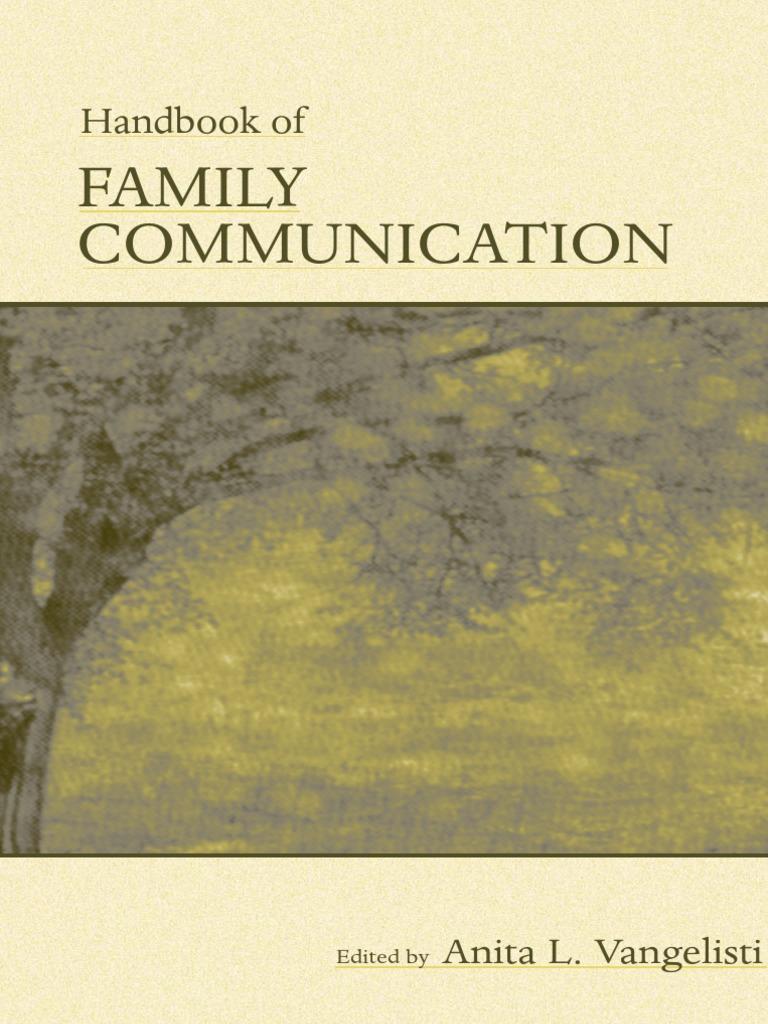 Handbook of family communication stepfamily emotions buycottarizona