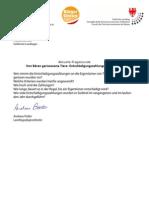 Landtagsnfrage&Antwort Bärenschäden - Entschädigungszahlungen