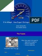 How Expert Entrepreneurs Do It