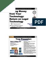 Kodner - Making Money From Your Technology - OKBAR SSF 6-24-06