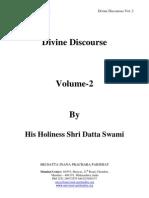 Divine Discourses Vol -2