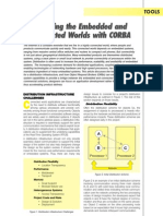 Bridging the Embedded and Connected Worlds With CORBA