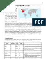 Sistema Internacional de Unidades Wikipedia)