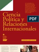 CIENCIA POLITICA Y RELACIONES INTERNACIONALES 2012 - UAH