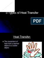 3 Types of Heat Transfer