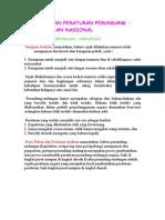 Tata Urutan Peraturan Perundang
