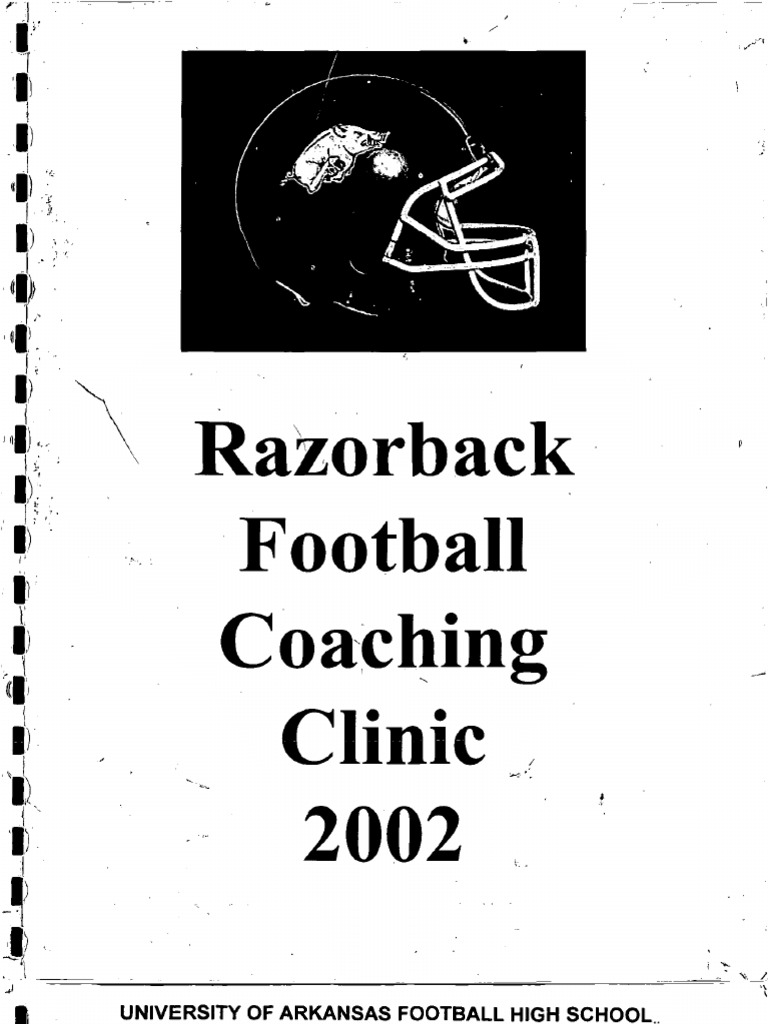 2002 Arkansas Coaches Clinic