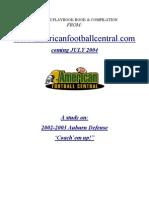 2002 Auburn 43 Defense