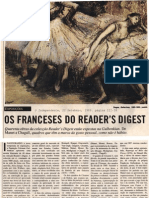 Coleccão Readers Digest. Por. O Independente.  22.09.1989