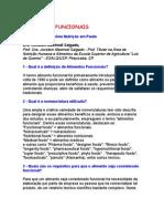 Alimentos Funcionais - Dra Jocelem Mastrodi Salgado - Revista Nutrição Em Pauta