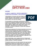 Alimentação Balance Ada - CARNE - Alimentos - Nutrição - DIETA SAUDÁVEL