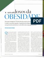 Paradoxos Da Obesidade - Wolfgang Stroebe - pág 18-23 - Nutrição - Emagrecimento - Saúde