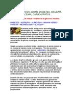 Vários Artigos Sobre Diabetes, BANANA VERDE, Insulina, Glicemia, [1]..