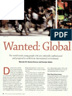 Wanted Global Citizens
