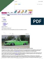Autoserviços - NOTÍCIAS - Carro rebaixado, mas dentro da lei
