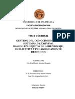 TD Gestion Del Conocimiento en Sistemas E-learning PDF
