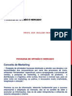 Pesquisa Mercado - Conceitos e Praticas