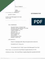 Shawangunk Town Justice Censured